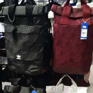 LAST UNIT!! FREE POSTAGE + FREE GIFT!! Adidas 3D Backpack