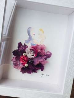 Tailor made Preserved Flower Painting