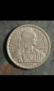 1000287 - 法國印度支那20美1939年
