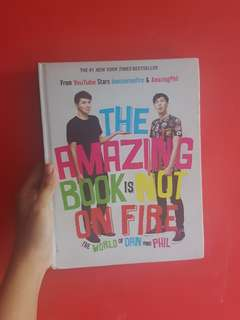 Amazing Book Is Not On Fire (Preloved)