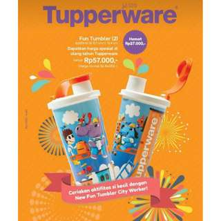 TUpperware Fun Tumbler