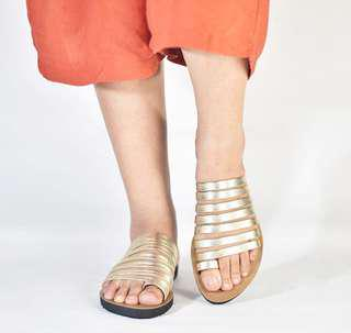 Gladiator Gold Sandal