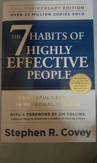 #July100 The 7 Habits of Highly Effective People