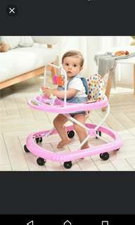 In stock/maximum load:25kg/Baby Walker/comes with toys and music