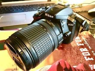 Nikon D5300 with 18-140mm Nikkor Lens not Canon Sony Fujifilm Olympus