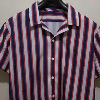 Stripes Buttondown Cuban Polo Collection