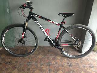 Cannondale trail5 29er mountain bike