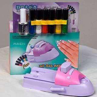 🚚 DIY NAIL MAGIC MACHINE SET