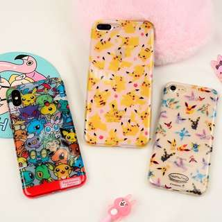 Pokemon iPhone case 6 6p 7 7p 8 8p X