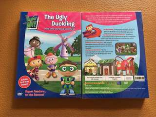 (New) Super Why - The Ugly Duckling & 3 other storybook adventures