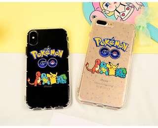 Pokemon iPhone case 6 6p 7 7p 8 8p X