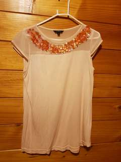 Pink top xs-s