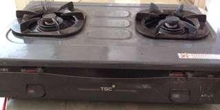 煤氣公司TGC火霸王雙頭煤氣煮食爐
