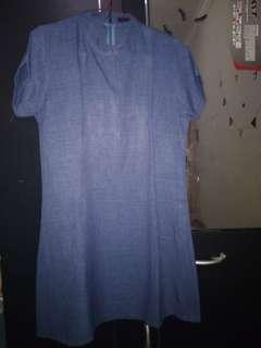 dress mini denim