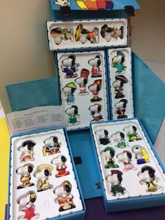 Mcd Snoopy world tour 2 fullset