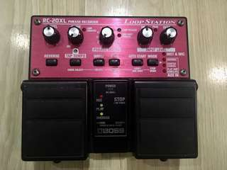 BOSS RC-20xl Loop Pedal