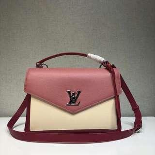 LV LockMe Shoulder Bag