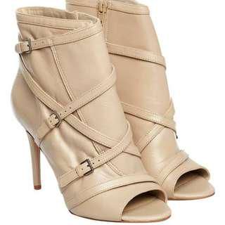 Nine West boots /heels in Beige