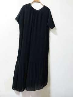 🚚 長版細條洋裝
