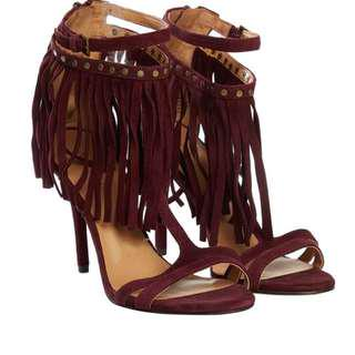 Nine West heels in Burgundy