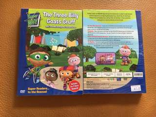(New) Super Why - The Three Billy Goats Gruff & 3 other storybook adventures