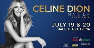 Celine Dion Manila Jul20 (2 LowerBox B magkatabi)