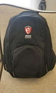 MSI Gaming Series notebook bag fits 17' inch