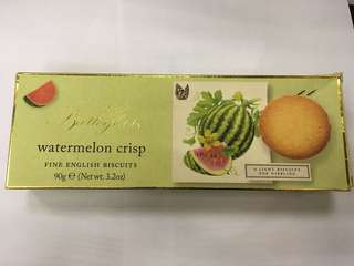 ART英國西瓜曲奇90g Watermelon Crisp Fine English Biscuit 到期日 16/9/2018)