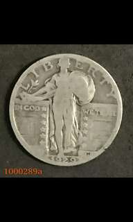 1000289	 - 1929 us quarter dollar	1929年