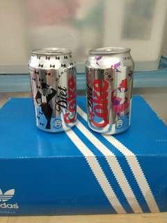 绝版可樂 可口可樂罐 Marc Jacobs一對