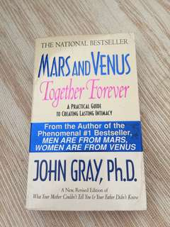 Mars and Venus together forever by dr John gray