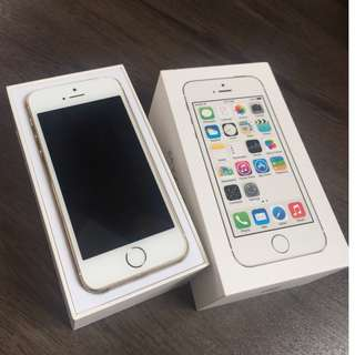iPhone 5s 32gb  with box and accessories original