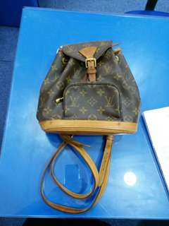 Vintage LV mini backpack