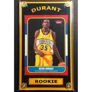 Kevin Durant Rookie Sports Card - NBA Finals MVP