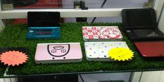 Preowned 3ds $99 , 3dsxl $129