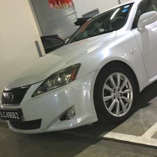 Lexus is250 for rent