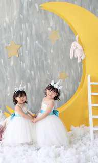 Perfect White 2-4y 🌟