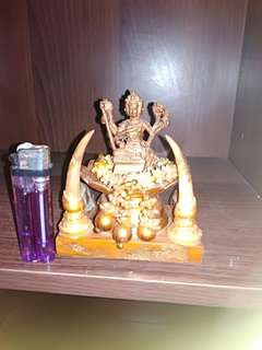 Phra Phrom Four Face buddha Mini bucha for rent.Good for all rounder.Details forgotten.