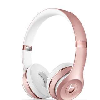 Beats 藍芽耳機 solo3 wireless