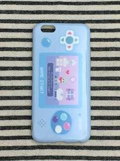 🏡清屋系列📮包平郵‼️iPhone 6/6S 4.7寸 全包邊軟殻 可愛遊戲機 小熊 piPhone case