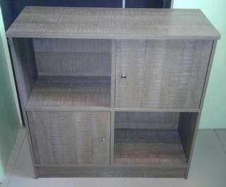 4 Cube 2 Door Storage Unit Cabinet