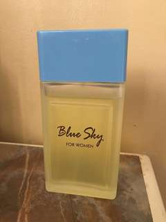 Preloved blue sky perfume 500ml shipping fee included to the price