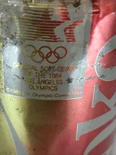 1984奧運可樂罐香港版