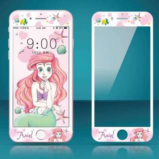 IPhone6/7/8/plus(沒有X) : 軟邊鋼化膜美人魚