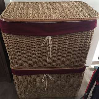 Rattan Basket (Price for 2)