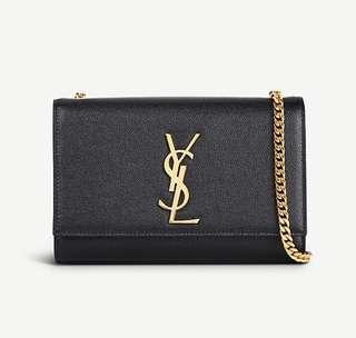 YSL Saint Laurent Kate leather shoulder bag