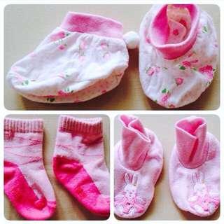 3pc Socks 0-6m