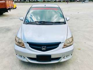 SAMBUNG BAYAR/CONTINUE LOAN  HONDA CITY IVTEC 1.5 AUTO YEAR 2006 MONTHLY RM 480 BALANCE 2 YEARS 4 MONTHS ROADTAX APRIL 2019 7 SPEED MODE TIPTRONIC SHIFT GEAR LEATHER SEAT  DP KLIK wasap.my/60133524312/city06