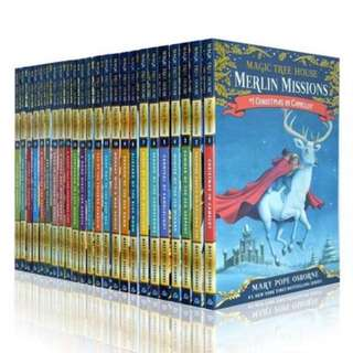 🚚 The Magic Tree House Box Set 2 (Books 29 to 52)