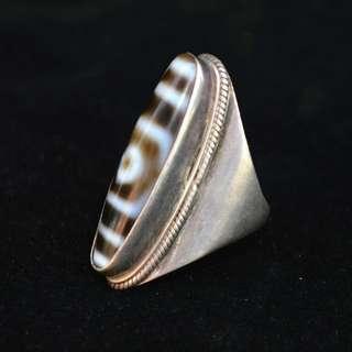 西蔵友人贈送  天珠指輪    縁起物